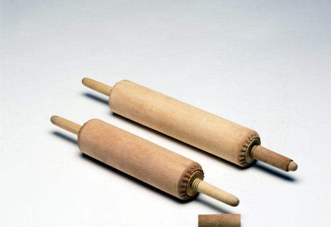 Rodillos de cuero para litografía