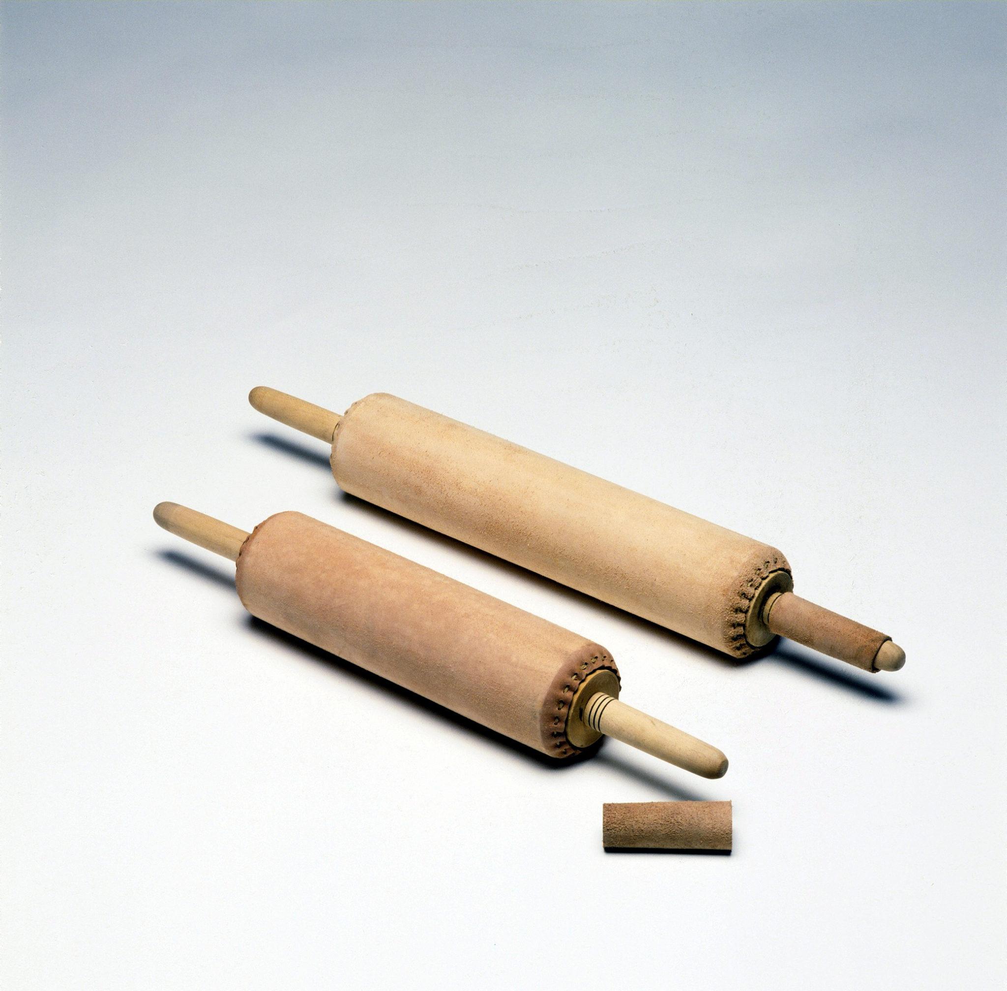 Rouleaux en cuir pour lithographie
